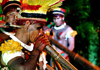 Xingu Indian Flute Ceremony