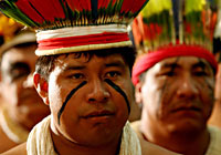 Xingu Indians of Cuiaba