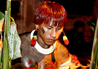 Xingu Native Teenager