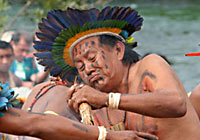 Xingu Cacique or Chief