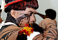 Indigenous Tribe from the Xingu River Valley