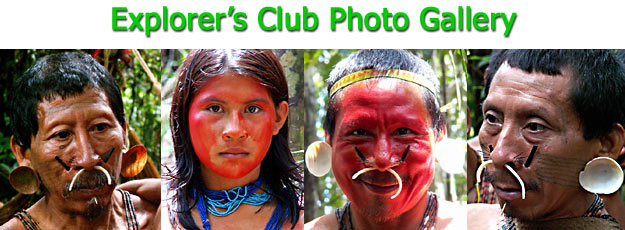 Explorers Club Amazon Indians