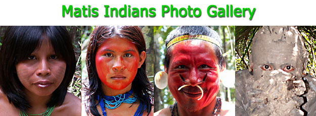 Photographic Gallery of Matis Indians