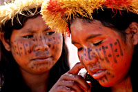 Xingu Indian Photo Gallery