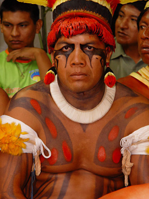 Indigenous Body Painting